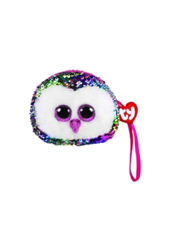 TY TY Fashion Sequins Wristlet - Owen Multicolor Owl 5D1B9KC9082527GS_1