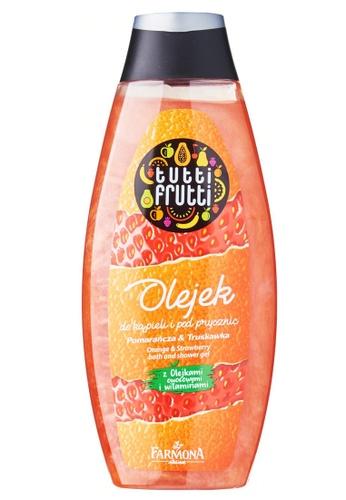 Tutti Frutti Tutti Frutti Orange and Strawberry Bath and Shower gel 26CBCBE8EED1B7GS_1