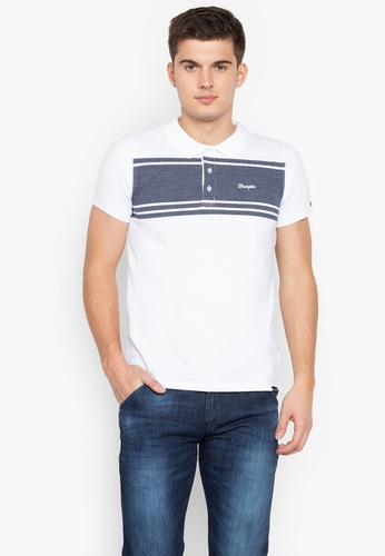 Shop Wrangler Cotton Pique Polo Shirt Online on ZALORA Philippines 8f4cbedd2