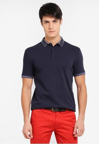 BOSS navy Porque Polo Shirt - Boss Casual BO517AA0SRBTMY_1