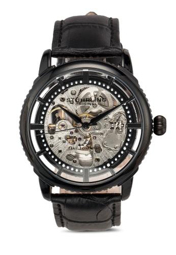 Stuhrling Original black Legacy 3933 Watch 462CCACE8C5626GS_1