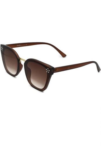 Dandelion black Flower Diamante Wayfarer Sunglasses F9B5FGL8D6BBDFGS_1