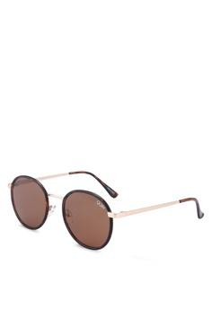 2bb435071f4 Quay Australia brown Omen Sunglasses D1E87GLC6C433AGS 1