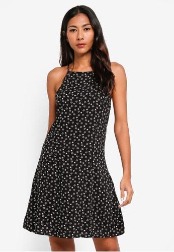Factorie black High Neck Slip Dress 1B6BFAAFC99F65GS_1