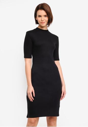 Modstrom black Krown T-Shirt Dress 58878AA636BD23GS_1