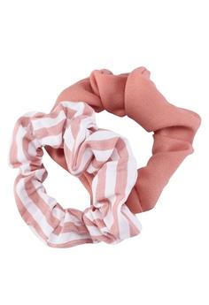 Rubi pink Dual-design Scrunchies 5A3B6AC19C6DDDGS_1