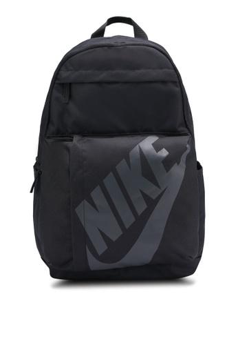 Nike black Unisex Nike Sportswear Elemental Backpack 6A064AC4AA953FGS_1