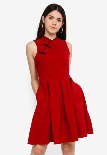 e67a14460 Buy JULY Alfyn Cheongsam Midi Dress Online   ZALORA Malaysia