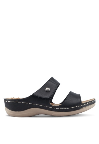 Bata black Colette Sandals 03739SH789E627GS_1
