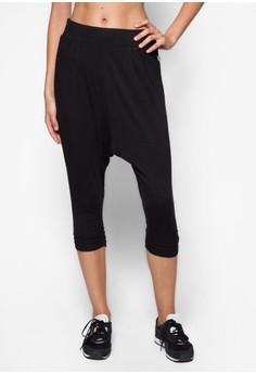 Cropped Drop Studio Pants