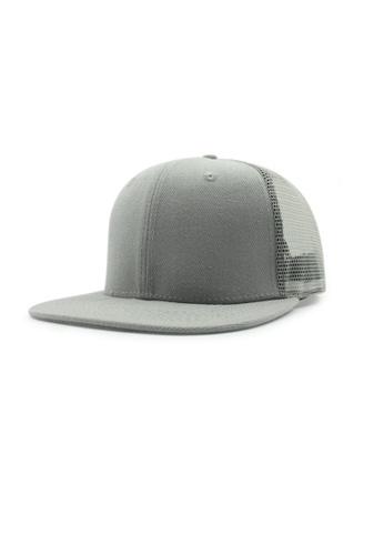 Praise grey Mesh Snapback Cap PR067AC0GE92SG_1