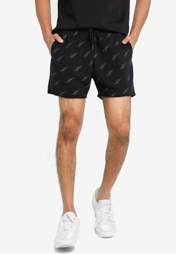 Hollister black Logo Casual Shorts 9DADFAAAE87A7EGS_1