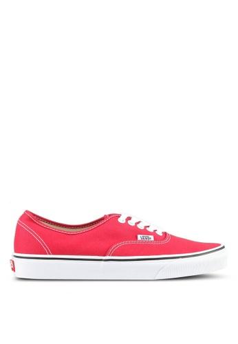 VANS red Authentic Sneakers VA142SH0SWMWMY_1