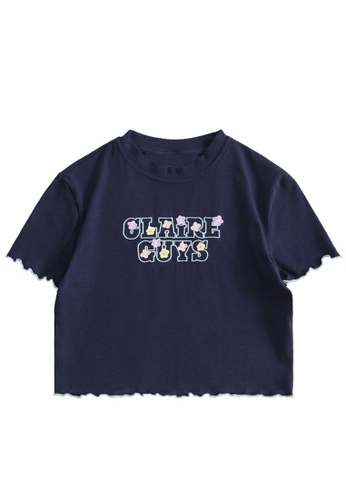 Twenty Eight Shoes Slim Embroidered Short Sleeve T-shirt HH0057 0FC54AA1588AA0GS_1