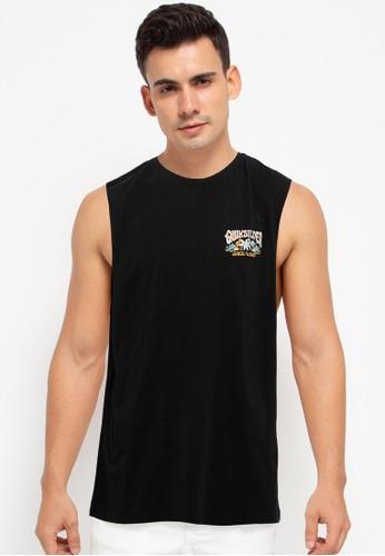 Quiksilver black Baja Road Muscle Tee BFF41AA1F44B99GS_1