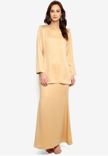 Butik Sireh Pinang yellow KURUNG MODEN AZIZAH 789DFAAD001A40GS_1