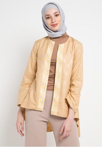 Aira Muslim Butik multi and gold Elizaa Outer 552D1AA960CF8FGS_1