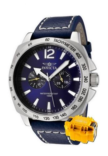 INVICTA silver Invicta Specialty Men Swiss Quartz 44mm Dress Fashion Watch 0854 w/ Impact Case FB662AC918D81BGS_1