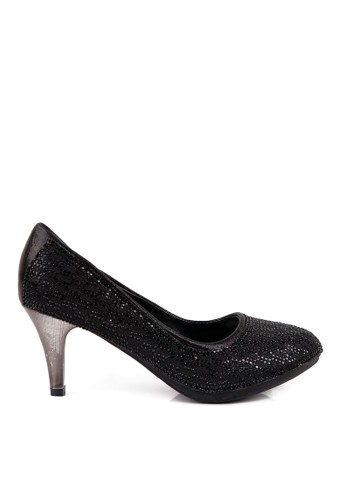 Clarette Heels Madeline Black