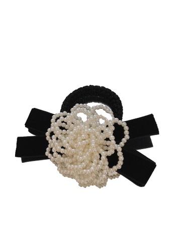 Kings Collection black Bow Tie Hair Elastic (HA20183) 1F399AC6CA2FA0GS_1