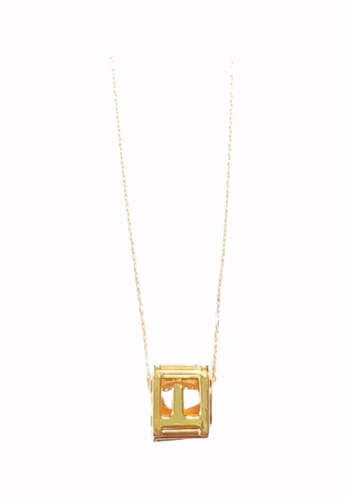 TOMEI gold LOVE Cube Necklace - Tomei Yellow Gold 999 (24K) (BTN-5D-025) AC88FACF7AC0F3GS_1