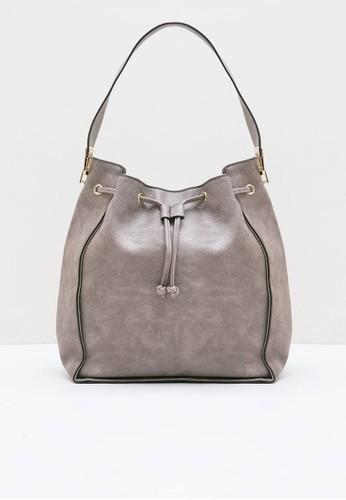 Berrybenka Label brown Carina Martin Shoulder Bags Brown 7060CAC614324DGS_1