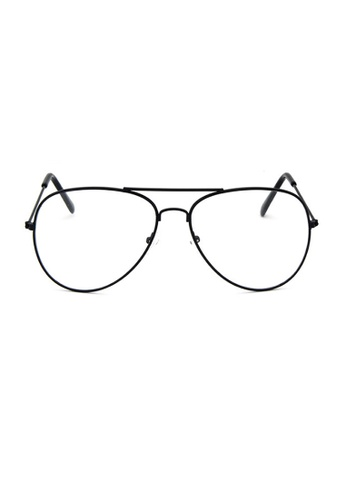 Elitrend black Metal Pilot Glasses with Black Frame CE6A6GL86C2879GS_1