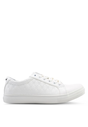 High Cultured white Logo Sneakers-340 35B0CSHC9FA787GS_1
