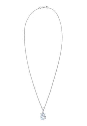 esprit 台北施華洛世奇水晶 925 純銀項鍊, 飾品配件, 項鍊
