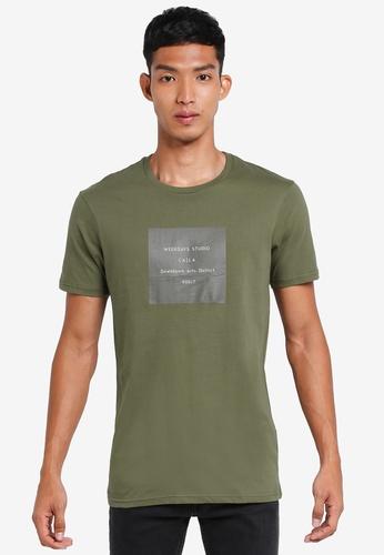 Cotton On 綠色 短袖印花T恤 62FA9AAE5A50CCGS_1