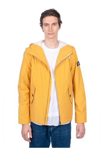 East Pole yellow Unisex 10 Pockets Detachable Sleeves Travel Windbreaker Jacket 21173AA3B5FC26GS_1