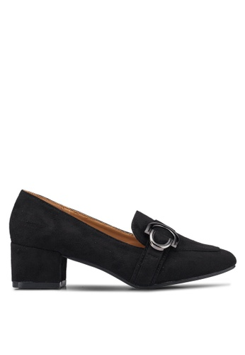 Noveni 黑色 Buckle Heels DA435SHC939024GS_1