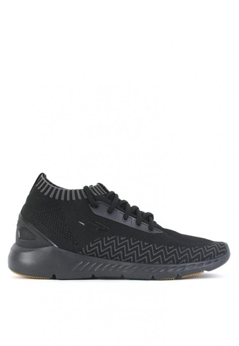 World Balance black City Dweller Men's Sneakers 945F3SHCB72D38GS_1