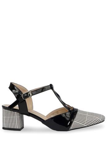 CLAYMORE black Claymore Mid Low Heels WA 15 - Hitam 67D7FSH78412B1GS_1