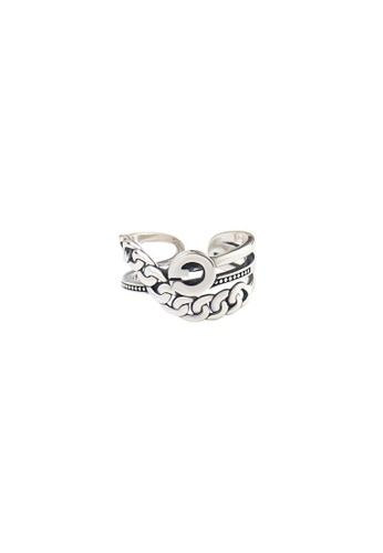 A-Excellence silver Premium S925 Sliver Geometric Ring 2355DAC2E07EEEGS_1