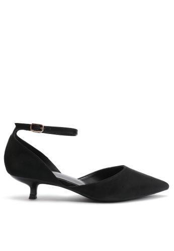 Twenty Eight Shoes 黑色 尖頭中踭鞋395-10 52359SH2BD6D07GS_1