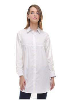 a1cac3245d1 LGS white LGS - Regular Fit - Kemeja Wanita - Dress - Polos - Putih  LG695AA0U9NWID 1