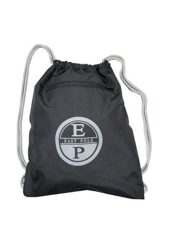 East Pole black Unisex Drawstring Waterproof Backpack Beach Bag 50A19AC5B83CE2GS_1