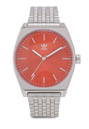 adidas silver adidas originals Process M1 Watch 2E05BAC8F63DB8GS_1