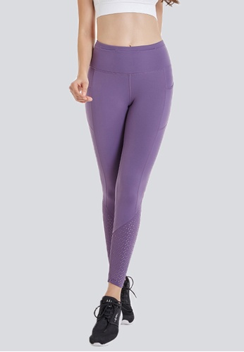 Holabolla purple Shooting Star Yoga Tight HO462AA0HE5NSG_1