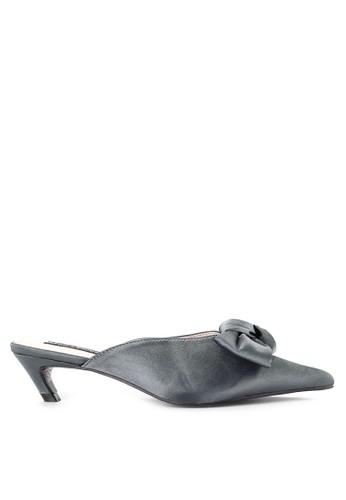 Mandy's gold Yeva Grey Heels E8C0ESH8B6C15BGS_1
