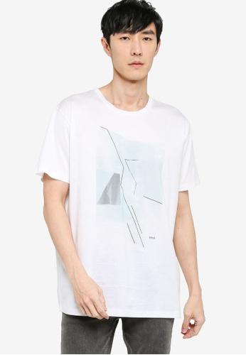 BOSS 白色 Tessler 32 T-Shirt 904EEAA03A510EGS_1