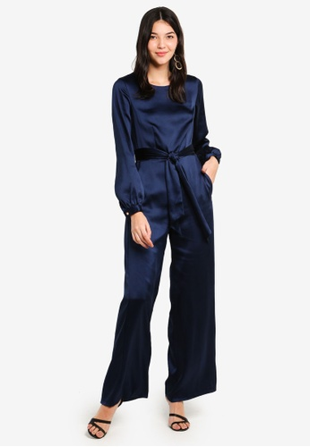 bd5048a8ec6e Shop CLOSET Puff Sleeve Jumpsuit Online on ZALORA Philippines