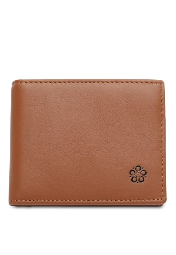 Wild Channel brown RFID Money Clip D0E38AC4B4C071GS_1