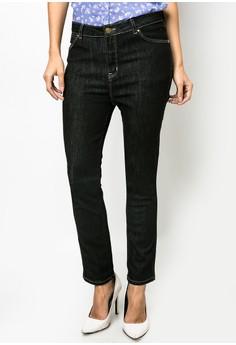 Jess Tarmac Rinse High Waist Jeans