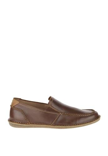 Hush Puppies brown Asil Roll Flex Casual Shoes HU326SH61TRIPH_1