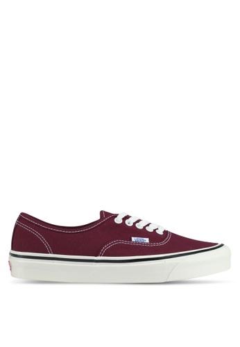 VANS red Authentic 44 DX Anaheim Factory Sneakers VA142SH0SWU9MY_1
