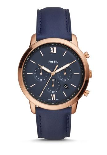 Fossil blue Fossil Neutra Chrono Blue Watch FS5454 7DF40AC0CB4E08GS_1