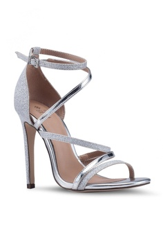 b14804b0ce4b Call It Spring Nagi Open Toe Ankle Strap Stiletto Heels RM 179.00. Sizes 5  6 7