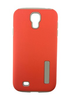 Dual Pro HardShell Case with Impact Absorbing Core for Samsung Galaxy S4